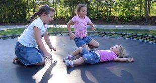 trampoline games