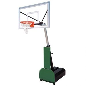 First Team Fury Select Portable Basketball Hoop with 60 Inch Acrylic Backboard