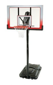 Lifetime 1558 Height Adjustable Portable Basketball System, 52 Inch Shatterproof Backboard