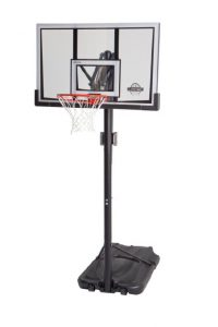 Lifetime 90061 Portable Basketball System, 52 Inch Shatterproof Backboard