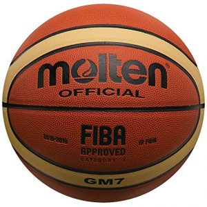 Molten BGM7 Basketball, Indoor/Outdoor, FIBA Approved