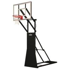 Street Tournament Side Court Portable Basketball Backstop from Spalding